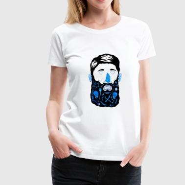 Beard Man Pirate Beard - Women's Premium T-Shirt