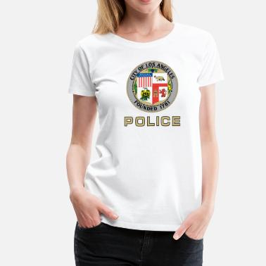 Los Angles Police LAPD Door Style - Women's Premium T-Shirt