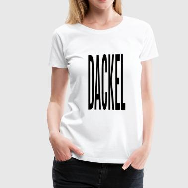 DACKEL - Women's Premium T-Shirt