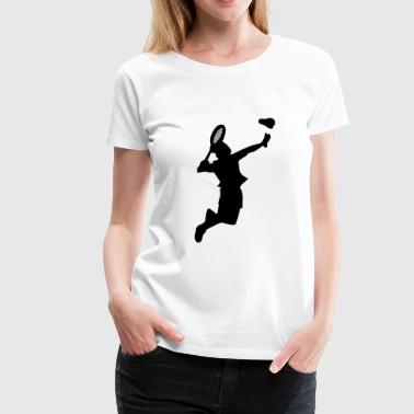 Badminton Sports Club Badminton Shuttlecock Player Sports Game - Women's Premium T-Shirt