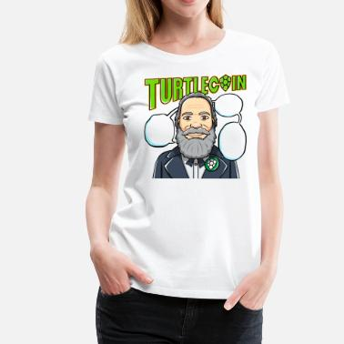 Reddit Quotes Add Your TEXT Turtlecoin T-Shirt Customize - Women's Premium T-Shirt