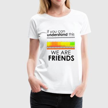 We Are Friends - Women's Premium T-Shirt