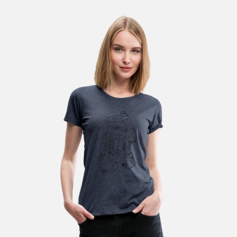 R2D2 Women\'s Premium T-Shirt | Spreadshirt