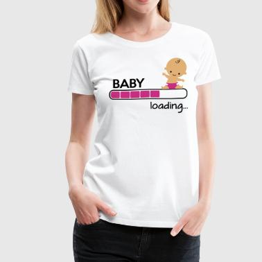 Baby loading - Women's Premium T-Shirt