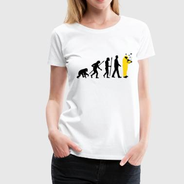 evolution of man beekeeper - Women's Premium T-Shirt