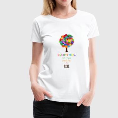 imagine - Women's Premium T-Shirt