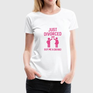 Just Divorced - Women's Premium T-Shirt