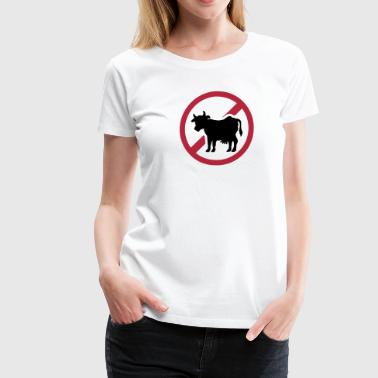 No meat - Women's Premium T-Shirt
