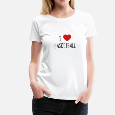 Basket Quotes Basketball Basket ball Basket-Ball Game Sport - Women's Premium T-Shirt