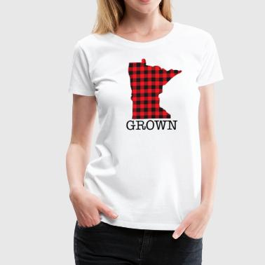 MINNESOTA GROWN - Women's Premium T-Shirt