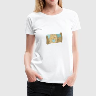 map - Women's Premium T-Shirt