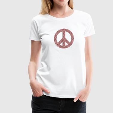 peace logo - Women's Premium T-Shirt
