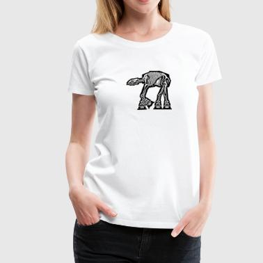 AT-AT Xray - Women's Premium T-Shirt