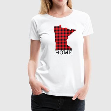 MINNESOTA HOME - Women's Premium T-Shirt