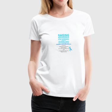 Adrenal Raise Adrenal Awareness - Women's Premium T-Shirt