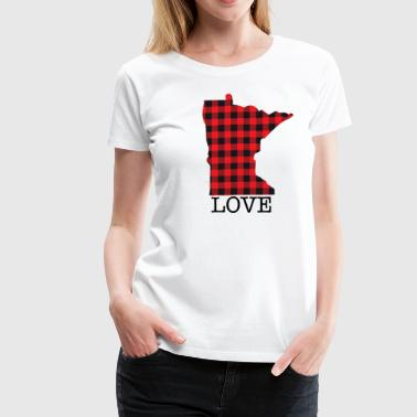 MINNESOTA LOVE - Women's Premium T-Shirt