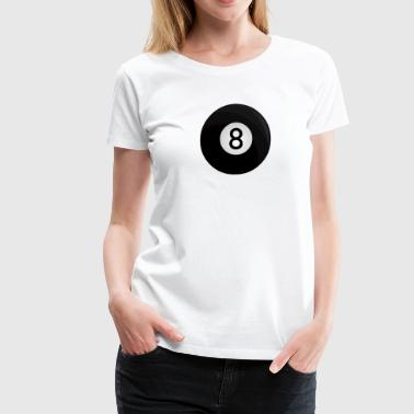 Lucky 8 8-ball - Women's Premium T-Shirt