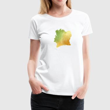 Ivory Coast - Women's Premium T-Shirt