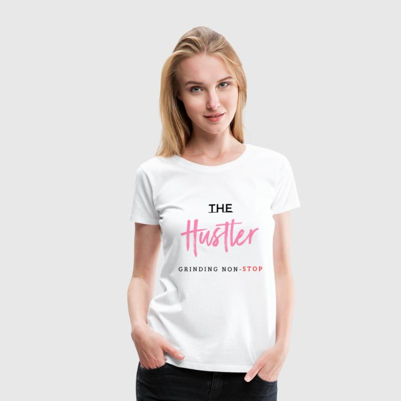 The Hustler Clothing (pink) - Women's Premium T-Shirt