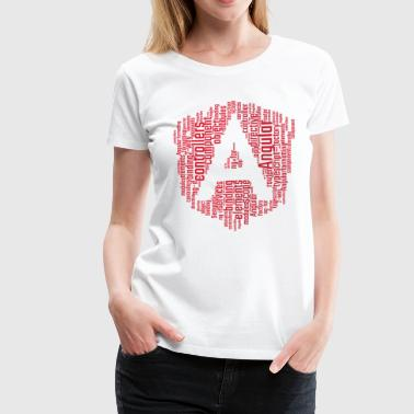 AngularJS WordCloud Premium TShirt - Women's Premium T-Shirt