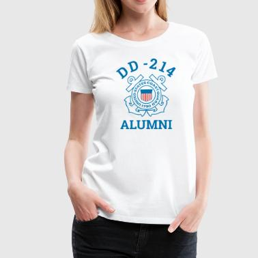 Seaman Military Coast Guard Veteran Shirt DD 214 Alumni Tee - Women's Premium T-Shirt