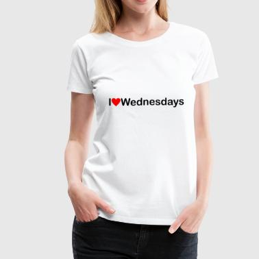 Wednesday - Women's Premium T-Shirt