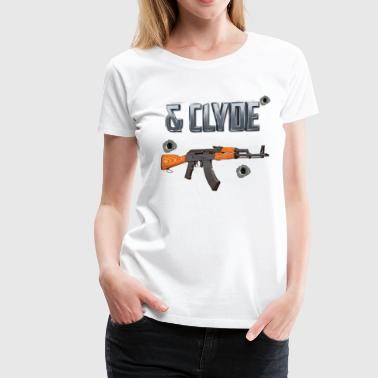 Matching Bonnie and Clyde Shirts - Women's Premium T-Shirt