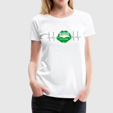 Saudi Arabia 2018 ECG Kiss Soccer World Champions - Women's Premium T-Shirt