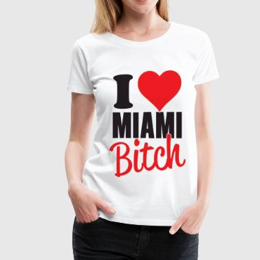 I Love Miami - Women's Premium T-Shirt
