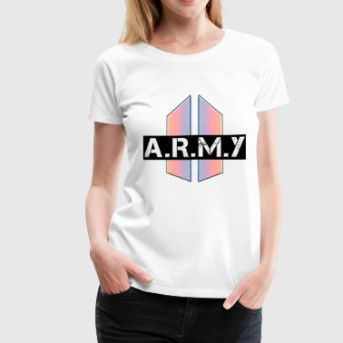 BTS_Army_Logo_Love_Yourself_Graphic - Women's Premium T-Shirt