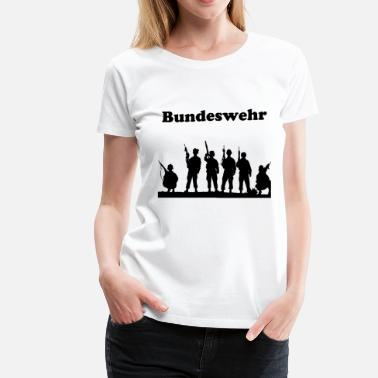 Bundeswehr German Bundeswehr Design - Women's Premium T-Shirt