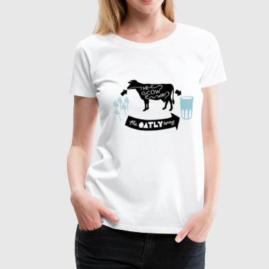 Oatly Vegan - Women's Premium T-Shirt