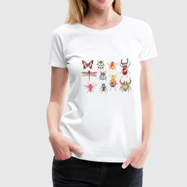 Insects Insect Collection - Women's Premium T-Shirt