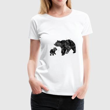 Bear Family Bear Family - Women's Premium T-Shirt