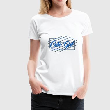 Cute Girl 03 - Women's Premium T-Shirt