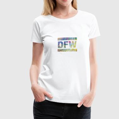 DFW, Dallas Airport, Texas, USA, Airport Call Sign - Women's Premium T-Shirt