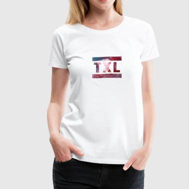 TXL, Berlin, Airport, German, German, Vintage - Women's Premium T-Shirt