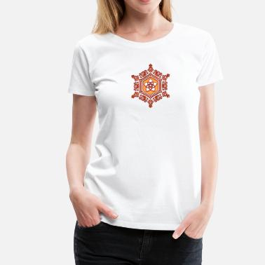 Crystal Power Water Crystal  LOVE / Venus Flower / Emoto / - Women's Premium T-Shirt