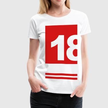 Birthday Gift For Him 18th birthday t-shirt gift for him and her - Women's Premium T-Shirt