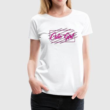 Cute Girl 04 - Women's Premium T-Shirt