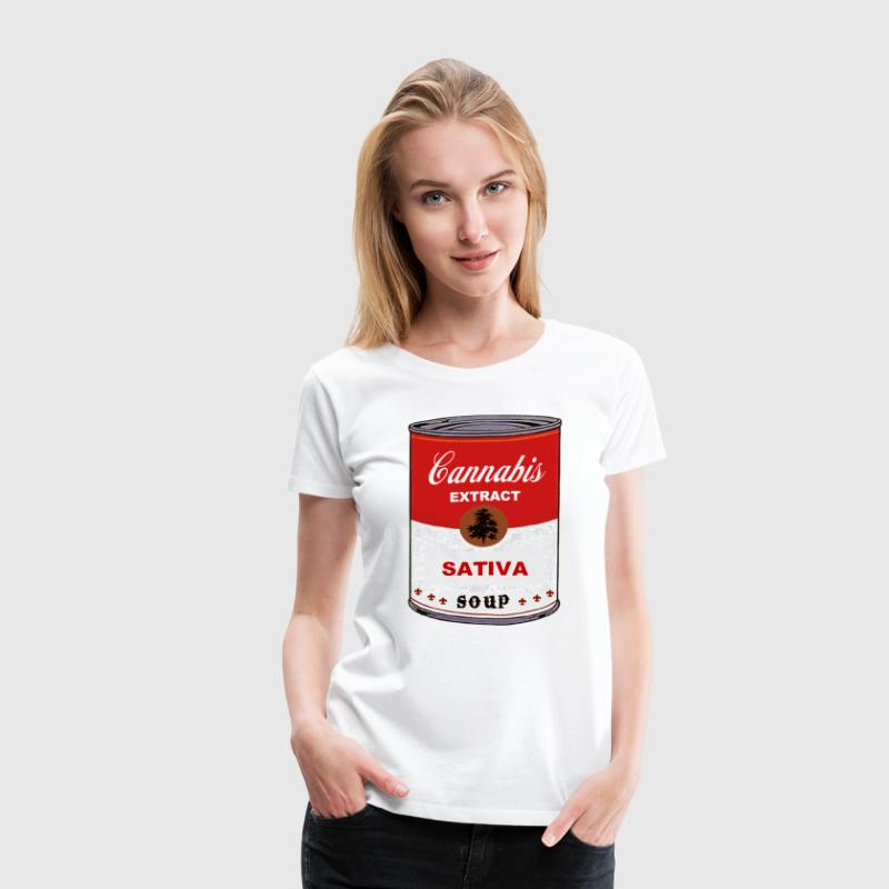 CANNABIS SOUP - Women's Premium T-Shirt