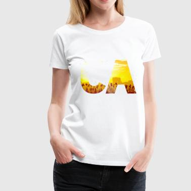 CA - California - Women's Premium T-Shirt