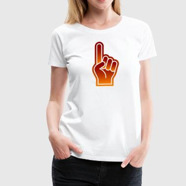 Sport Event Great Finger At Sporting Events - Women's Premium T-Shirt
