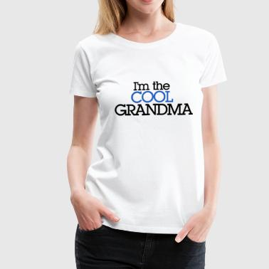 Cool Grandma - Women's Premium T-Shirt