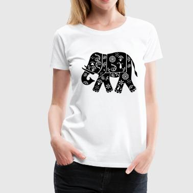 Elephant Pictogram Elephant - Women's Premium T-Shirt