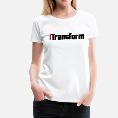 Crossfader iTransform - Women's Premium T-Shirt
