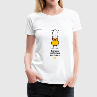 Michelin-starred Chef Little Cook - Women's Premium T-Shirt
