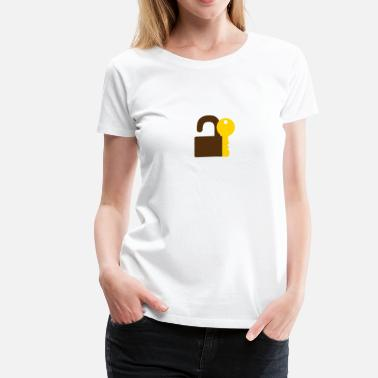Key Lock Lock key - Women's Premium T-Shirt