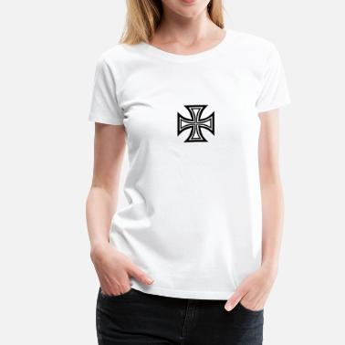 Biker Iron Cross Iron cross - Women's Premium T-Shirt