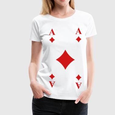 Playing Cards Cards - Women's Premium T-Shirt